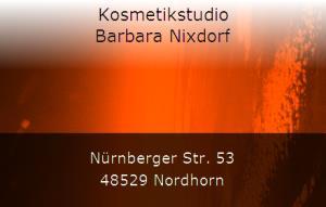 Kosmetikstudio Barbara Nixdorf